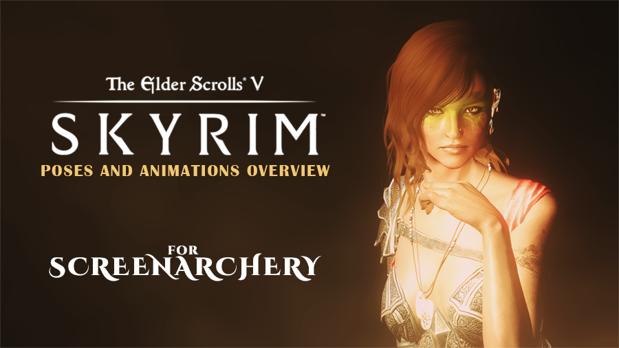 Skyrim Overview: Poses and Animations   PC Gaming Experience