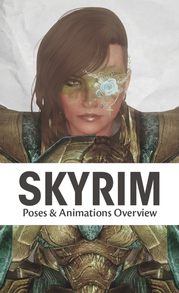 Skyrim Overview: Poses and Animations | PC Gaming Experience